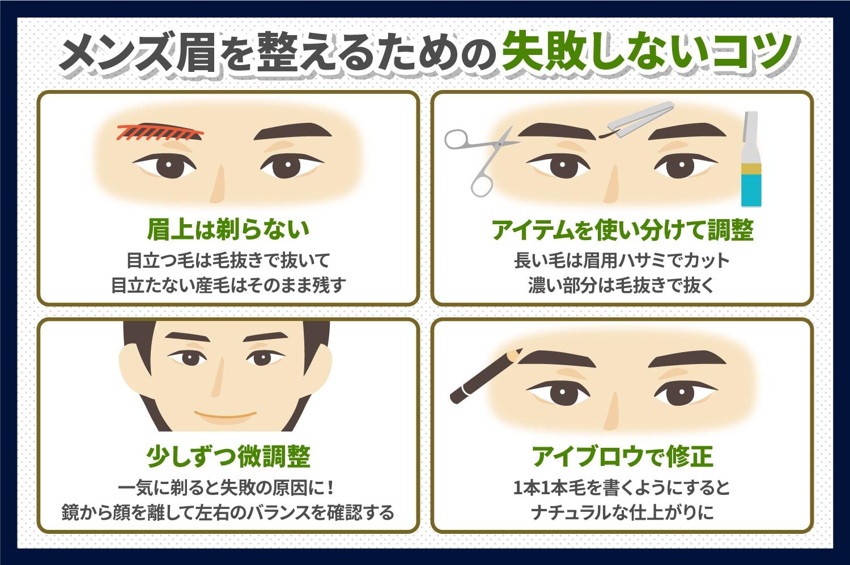 眉毛 剃り 方